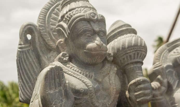 Mechanized Hanuman temple