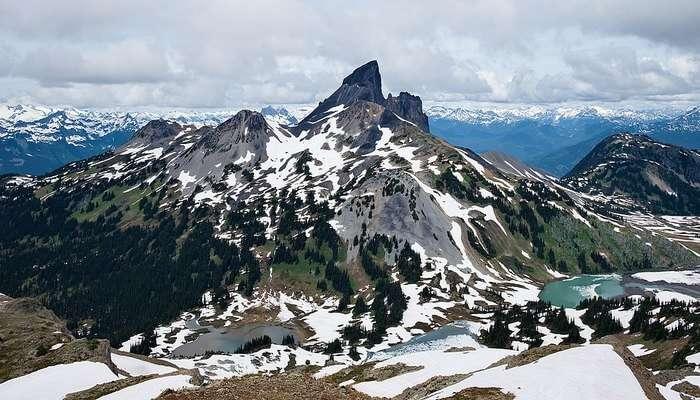 Panorama Ridge In Vancouver