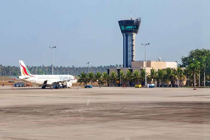 A view of the airport