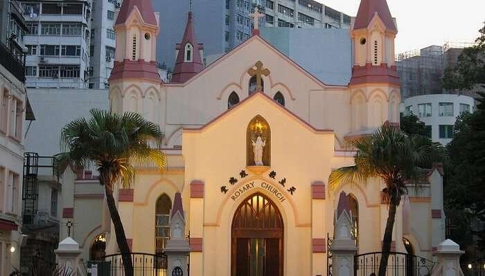 Rosary Chruch Hong Kong