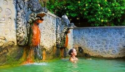 Take A Dip In Banjar Hot Springs