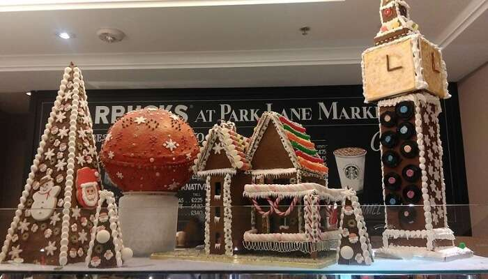 Gingerbread Lane In Vancouver