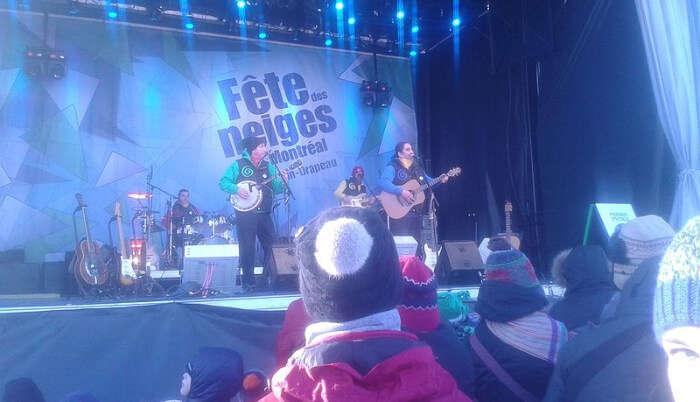 Winter Festival Fete Des Neiges