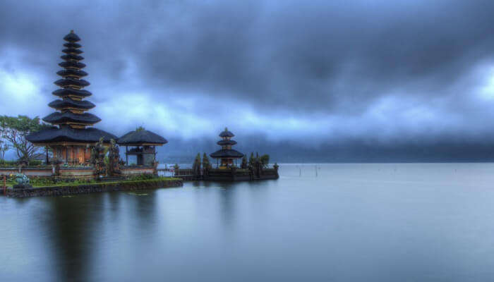 temple on the sea shore