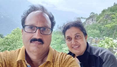 cover - Ramanamurty Sikkim trip with wife