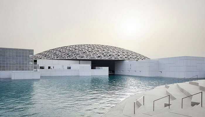 Louvre Abu Dhabi art museum