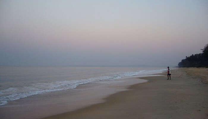 View Of Betalbatim Beach