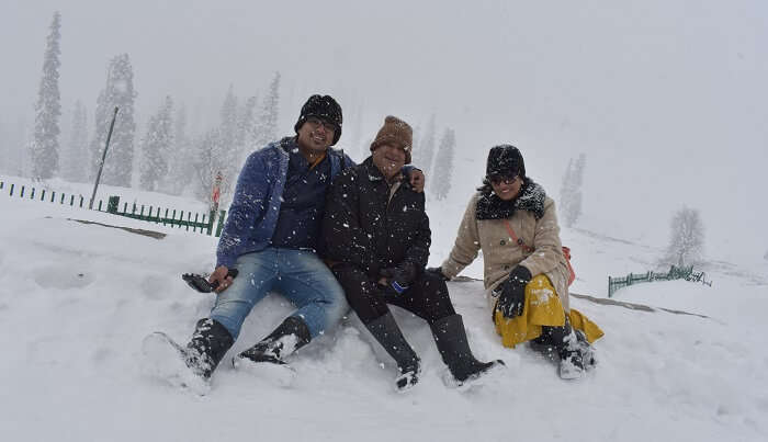 cover - Sandeep's Trip to Kashmir with family