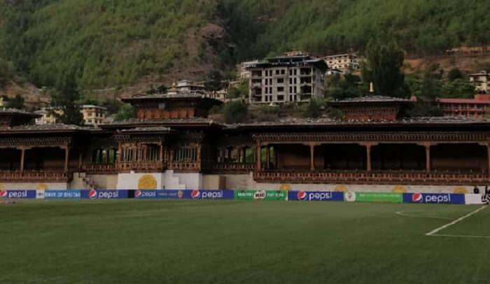 stadium in Thimphu
