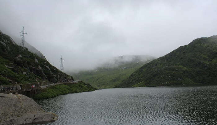 lake offered breathtaking views