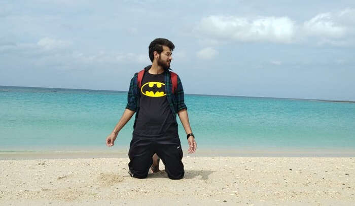 cover- Dinesh Andaman Trip