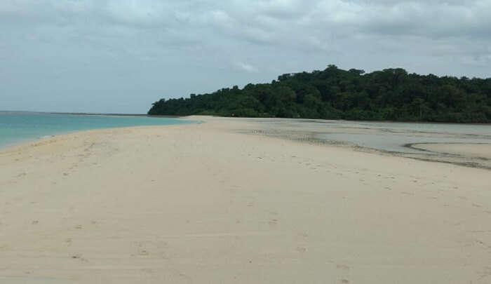 beautiful and clean beach