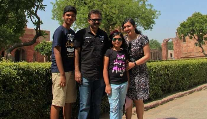 clicked lot of pictures in Delhi
