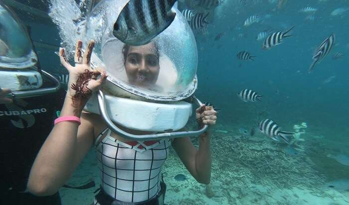 had an amazing experience in water
