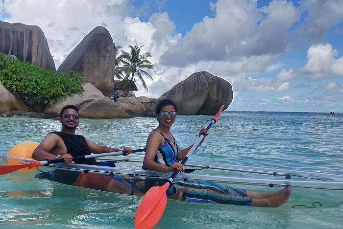 cover - Sandesh Trip To Seychelles for Honeymoon