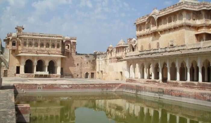 Nagaur Fort In Rajasthan