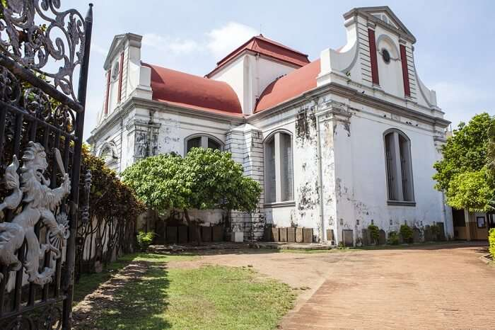 Wolvendaal church, Sri Lanka