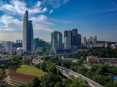 View of Petaling Jaya