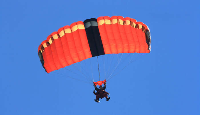 Skydiving In Canada cover