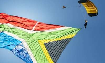 Skydiving in South Africa_24th oct