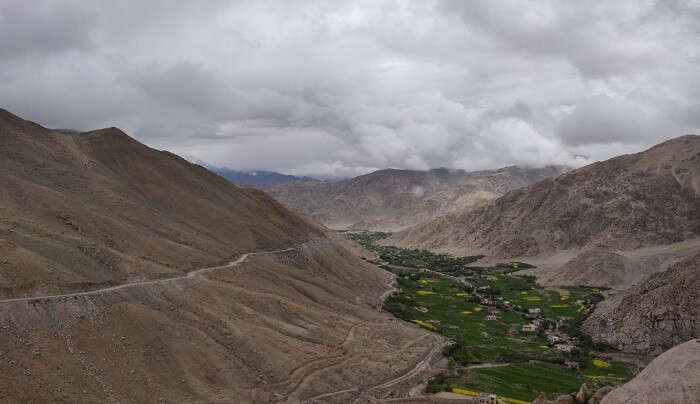 beautiful and peaceful valley