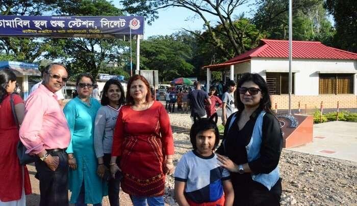 went to the Indo Bangladesh Border