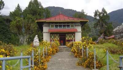 Tashiding Monastery in Yuksom
