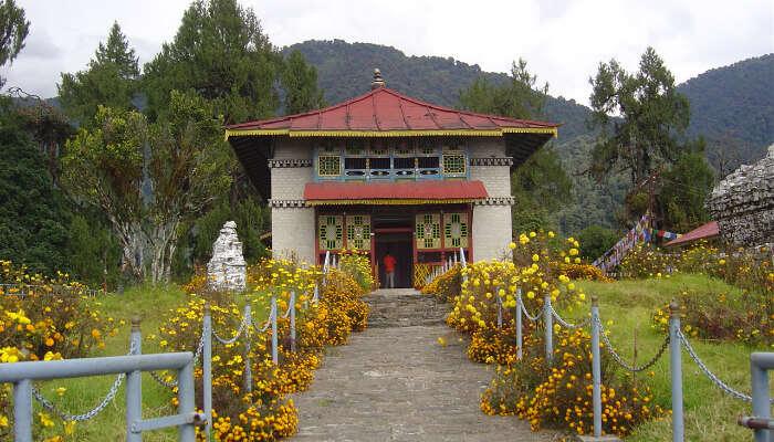 Tashiding Monastery in Yuksom