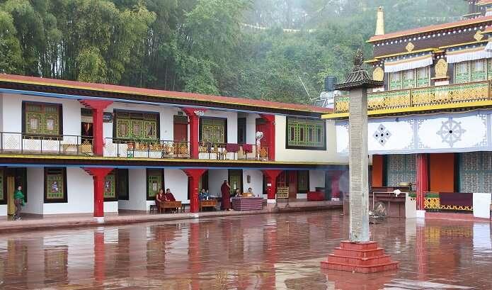 Architecture Of Rumtek Monastery