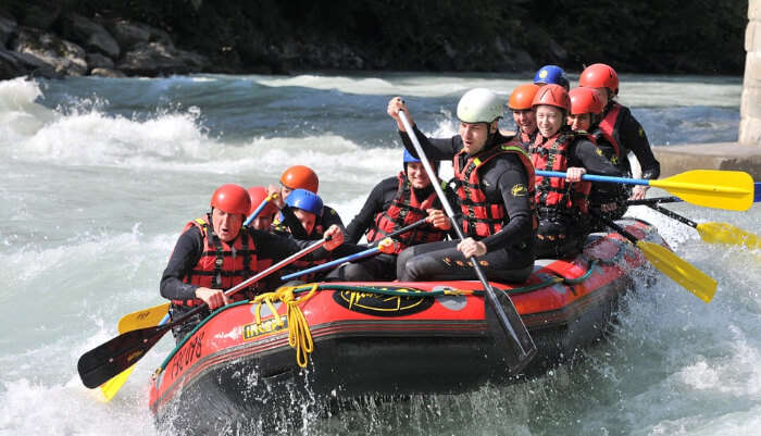 Best Time For River Rafting