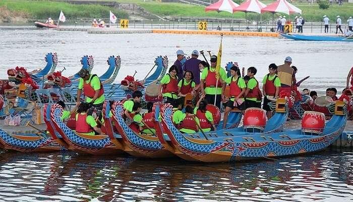 Bidar Boat Race indonesia