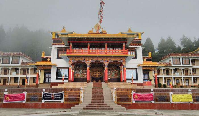 Monastery in Bomdila