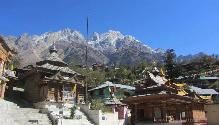 Nagin Temple in Tirthan Valley
