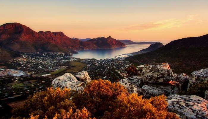 Cape Town cove