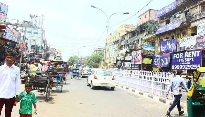 Chandni Chowk Streets View