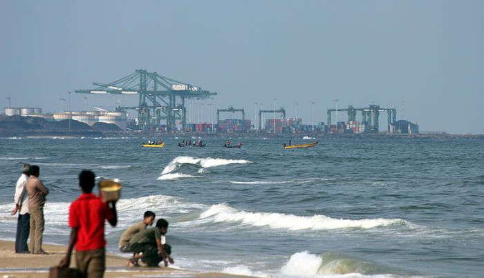 second biggest sea port in India