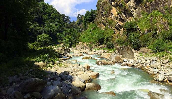 irthan and Flachan Rivers