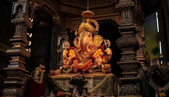 Dagdusheth Ganpati temple