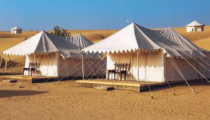 camping in damodara desert