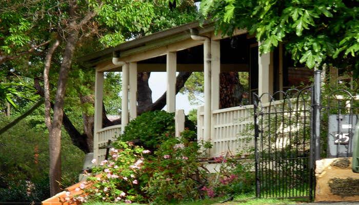 Eco homestay view