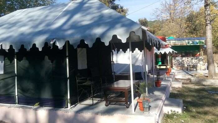 Effusion camping site is a luxurious site