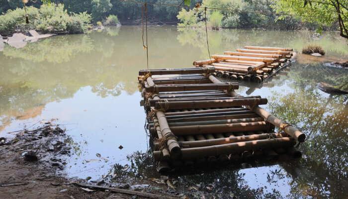 Bamboo Rafting In Island