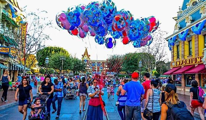 Disneyland literally looks heavenly during days and nights