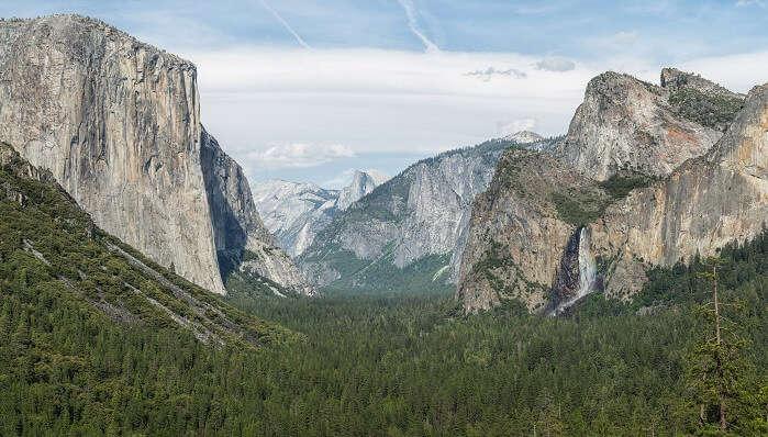 natural beauties at Yosemite