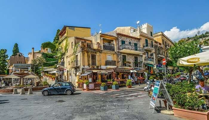 Restaurants Italy Sicily Cafe City Tourist