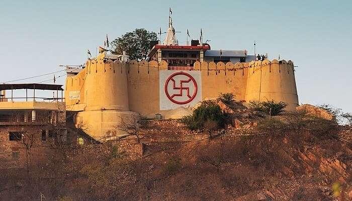Garh Ganesh Temple In Jaipur