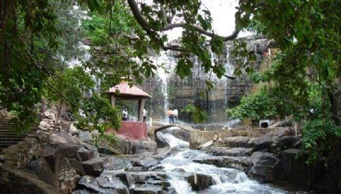 Ghata Rani waterfall