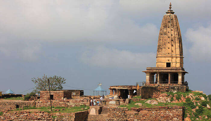 Beautiful temple in sikar