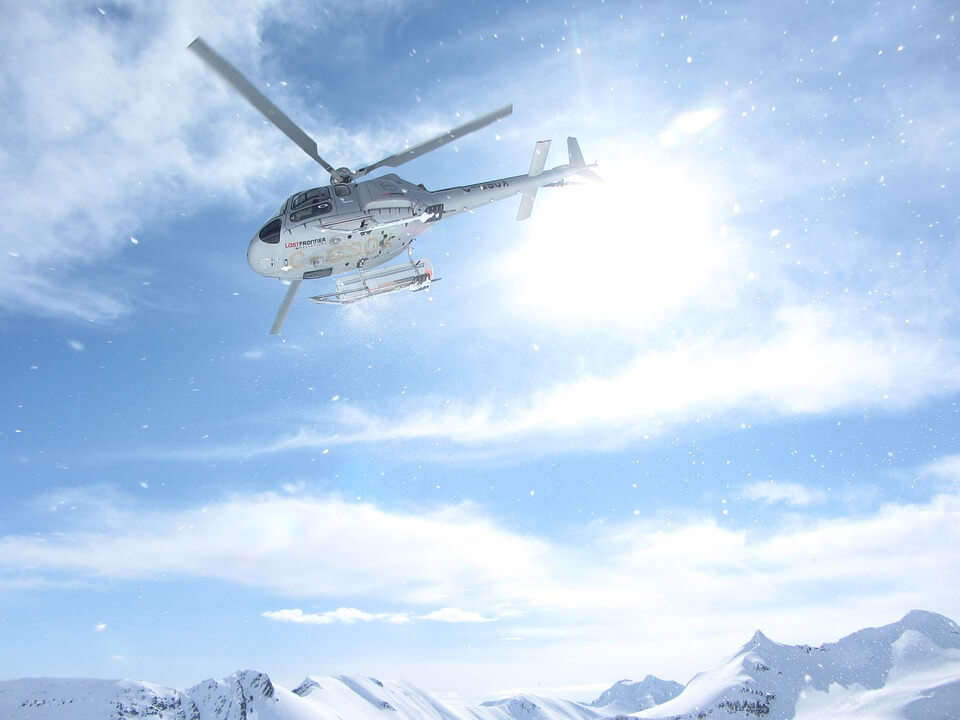 view of heli skii