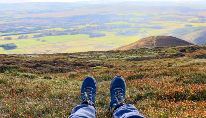 Hiking In Edinburgh cover